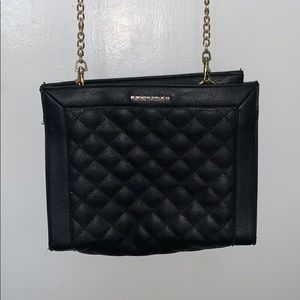 Black leather crossbody by Rampage